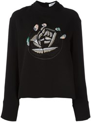 J.W.Anderson Embroidered Sweatshirt Black