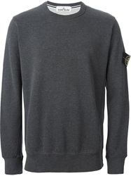 Stone Island Crew Neck Sweatshirt Grey