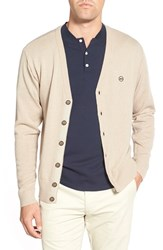 Ag Jeans Men's Ag 'Marker' Wool And Cashmere Cardigan Beach Sand
