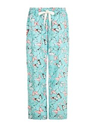 Yumi Butterfly Pj Bottoms Blue