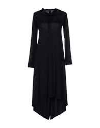 Paolo Errico Dresses Knee Length Dresses Women Black