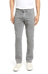 Paige Men's Big And Tall Lennox Transcend Slim Fit Jeans Grey Clay