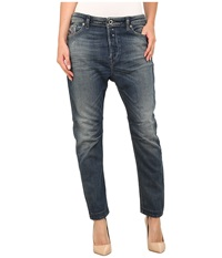 Diesel Eazee L.32 Trousers Denim Women's Casual Pants Blue