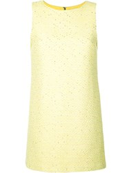 Alice Olivia Clyde Shift Dress Yellow