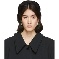 Sophie Buhai Black Silk Classic Twisted Headband