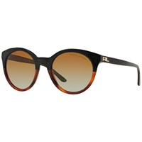 Ralph Lauren Rl8138 Polarised Round Sunglasses Black