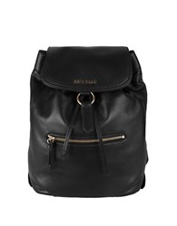 Cole Haan Magnolia Leather Backpack Black