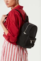 Urban Outfitters Classic Canvas Mini Backpack Black