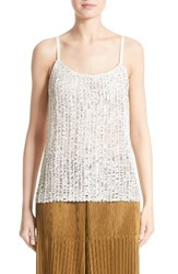 Simon Miller Women's Perforated Leather Top