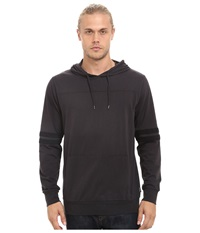 Brixton Voyager Long Sleeve Knit Washed Black Men's Long Sleeve Button Up