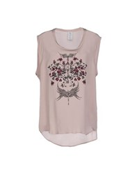 Uniqueness Topwear Tops Women Dove Grey