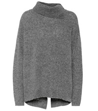 81 Hours Cast Cashmere Sweater Grey
