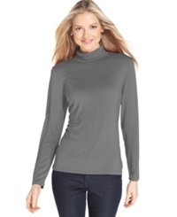 Style And Co. Long Sleeve Mock Turtleneck