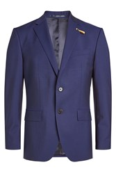 Baldessarini Virgin Wool Blazer With Mohair
