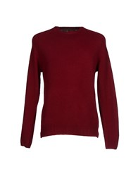 Roy Roger's Rugged Knitwear Jumpers Men Maroon