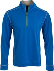Calvin Klein Trek Half Zip Jumper Royal Blue