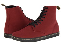 Dr. Martens Alfie Cherry Red Canvas Men's Lace Up Boots