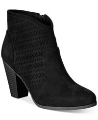 American Rag Ariane Ankle Booties Only At Macy's Women's Shoes Black