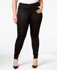 Celebrity Pink Body Sculpt By Trendy Plus Size The Lifter Skinny Jeans Black