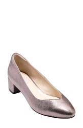 Cole Haan Yuliana Pump Pink Glitter Leather