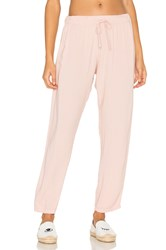 Michael Lauren Astro Relaxed Trouser Pant Pink