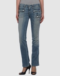 Cimarron Denim Denim Trousers Women Blue