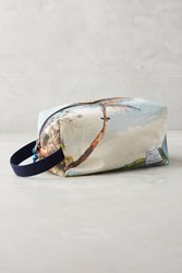 Anthropologie Mia Cosmetic Pouch Sky