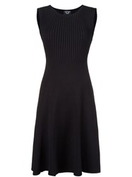Creatures Of The Wind Ribbed Knit Dress Black