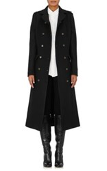 Barneys New York Women's Military Wool Blend Coat Black