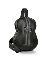Pratesi Guitar Backpack W Mp3 Speaker Connection Black