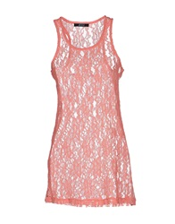 Guess By Marciano Tops Salmon Pink