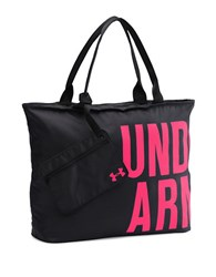 Under Armour Logo Tote Bag Black Pink