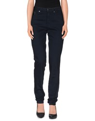 Karl By Karl Lagerfeld Trousers Casual Trousers Women Dark Blue