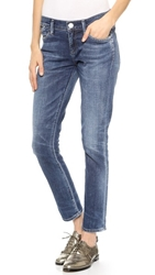 Gold Sign Frontier Straight Leg Ankle Jeans Julianne