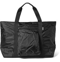 Onia Sutton Oversized Shell Tote Bag Black