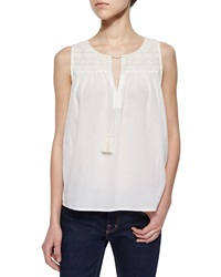 Soft Joie Rasala Sleeveless Tie Neck Blouse
