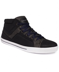 Sean John Trimiti Hi Top Sneakers Men's Shoes Charcoal
