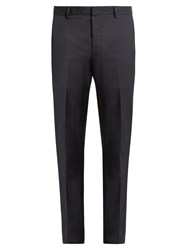 Lanvin Slim Fit Side Stripe Chino Trousers Navy