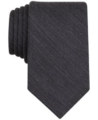 Bar Iii Carnaby Collection Badger Solid Skinny Tie Only At Macy's Black