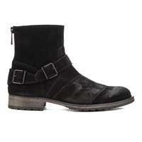 Belstaff Men's Trialmaster Leather Short Boots Black