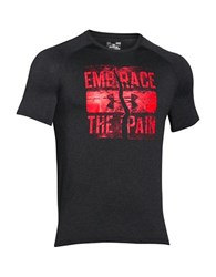 Under Armour Embrace The Pain Tee Black