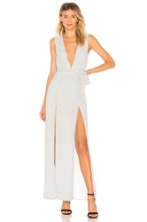 Ale By Alessandra X Revolve Taura Maxi Dress White