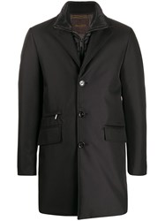 Moorer Layered Single Breasted Coat 60