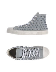Gienchi High Top Sneakers Bright Blue