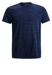 Your Turn Active Sports Shirt Navy Dark Blue