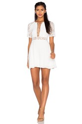 For Love And Lemons X Revolve Madeline Dress White