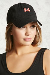 Forever 21 Minnie Mouse Baseball Cap Black Multi