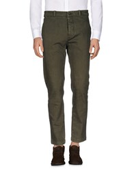 Nicolas And Mark Casual Pants Military Green