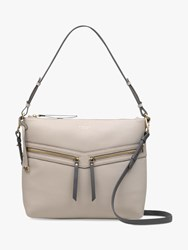 Radley Smith Street Leather Medium Shoulder Bag Dove Grey