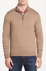 Men's Nordstrom Half Zip Cotton And Cashmere Pullover